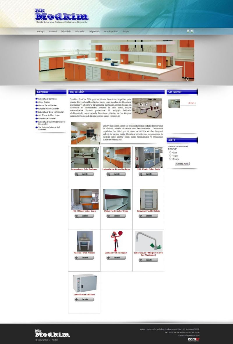 Modkim Laboratuar Sistemleri