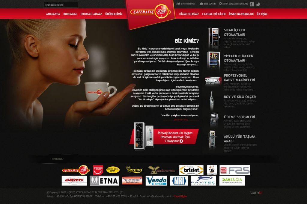 Kafematik 7/24 - Kahve Makineleri & Otomatları, Vending