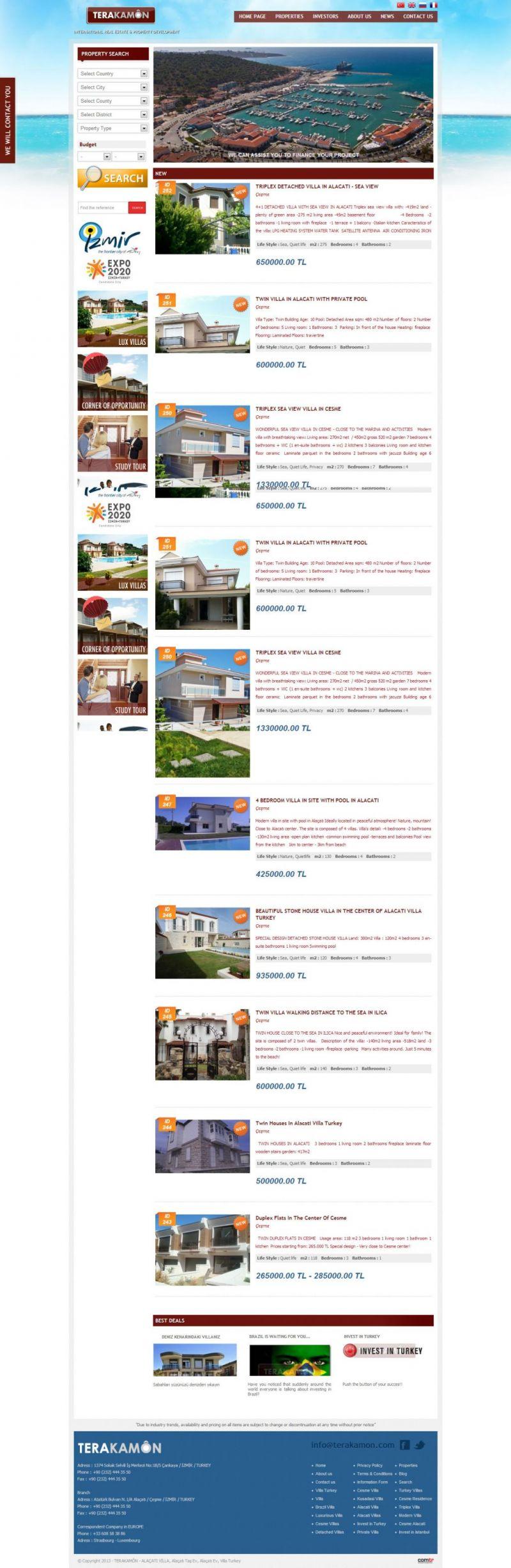 TERAKAMÔN - Villa Turkey