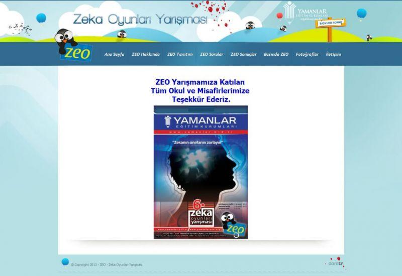 ZEO - Zeka Oyunları Yarışması