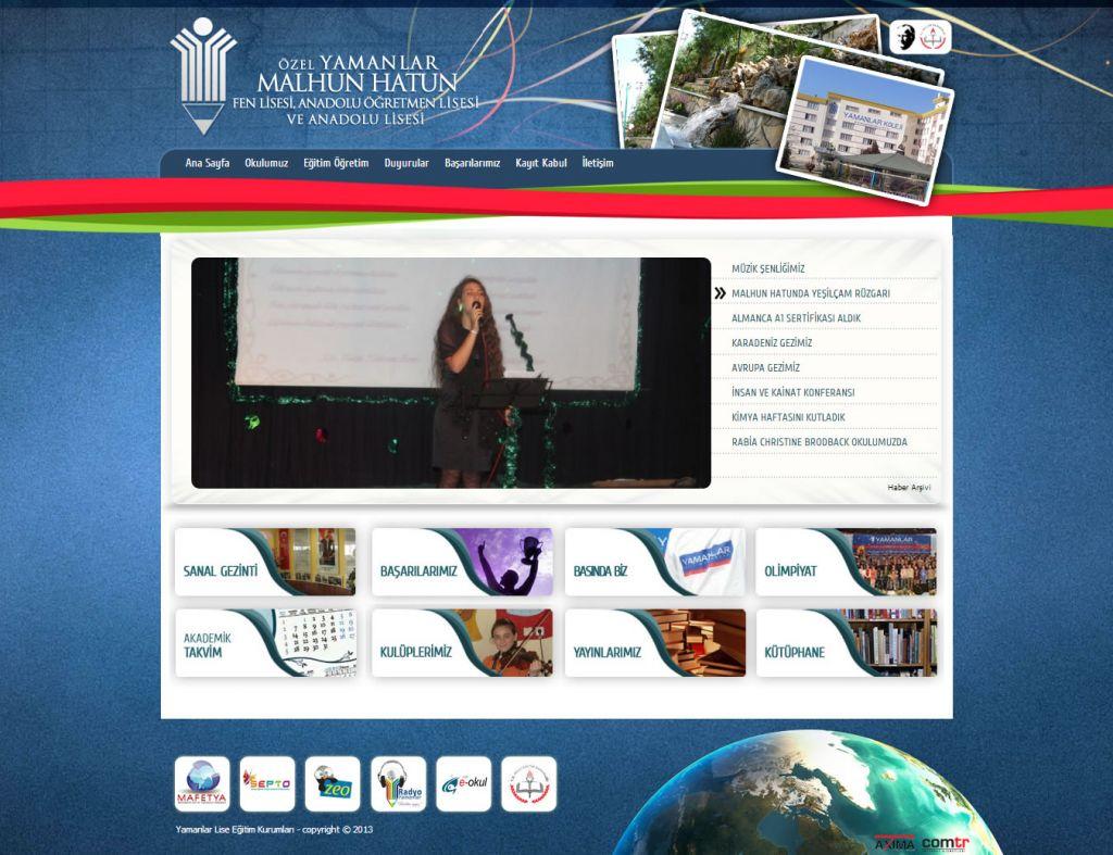 Özel Yamanlar Malhun Hatun Fen, Anadolu Öğretmen ve Anadolu Lisesi