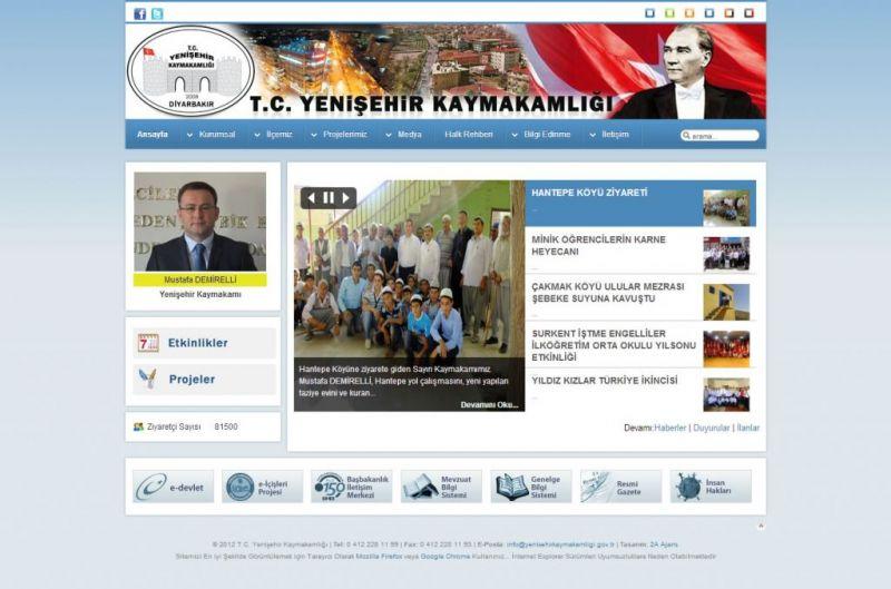 Diyarbakır Yenişehir Kaymakamlığı
