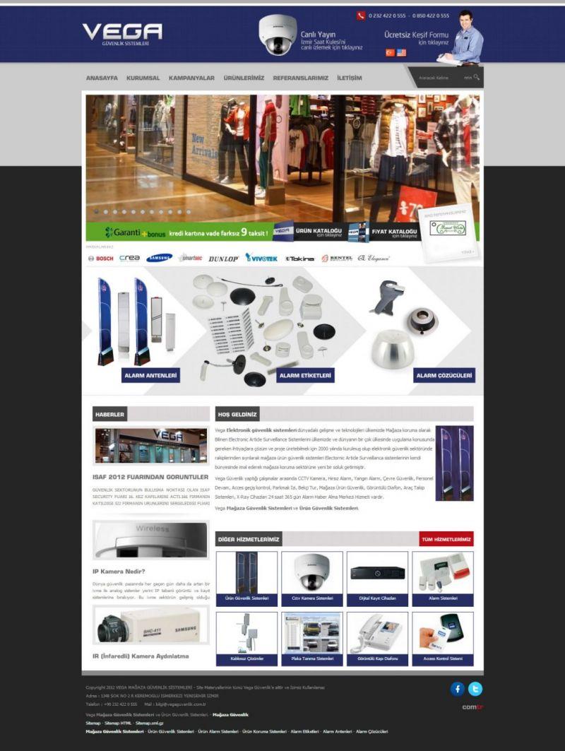 Vega Mağaza Güvenlik Sistemleri