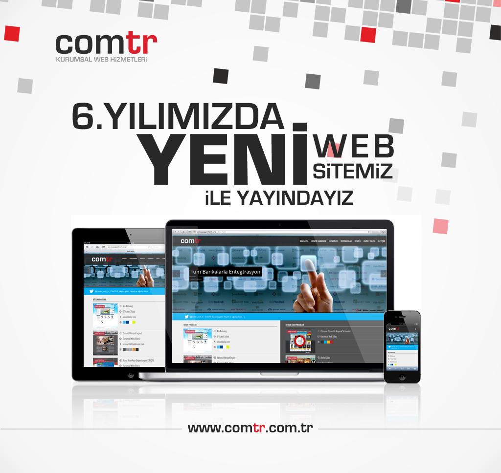 Yeni Web Sitemizle Yayındayız!